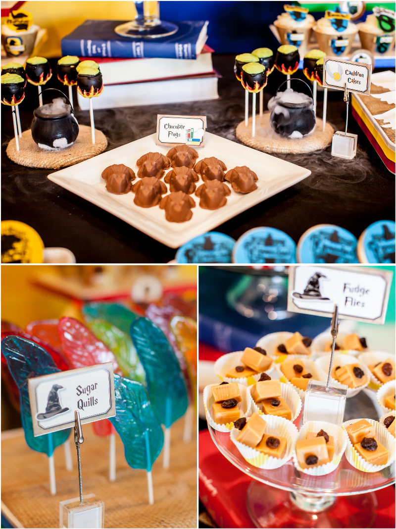 Harry Potter Inspired 9th Birthday Party Harry potter