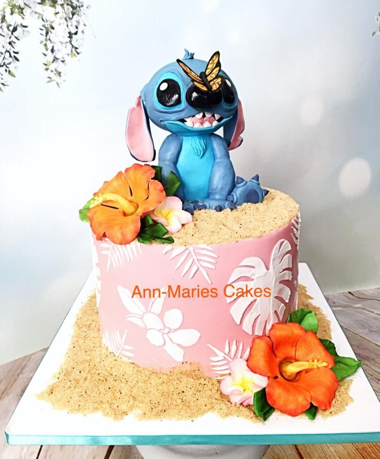 Stitch Birthday Cake Cake By Ann Marie Youngblood With Images