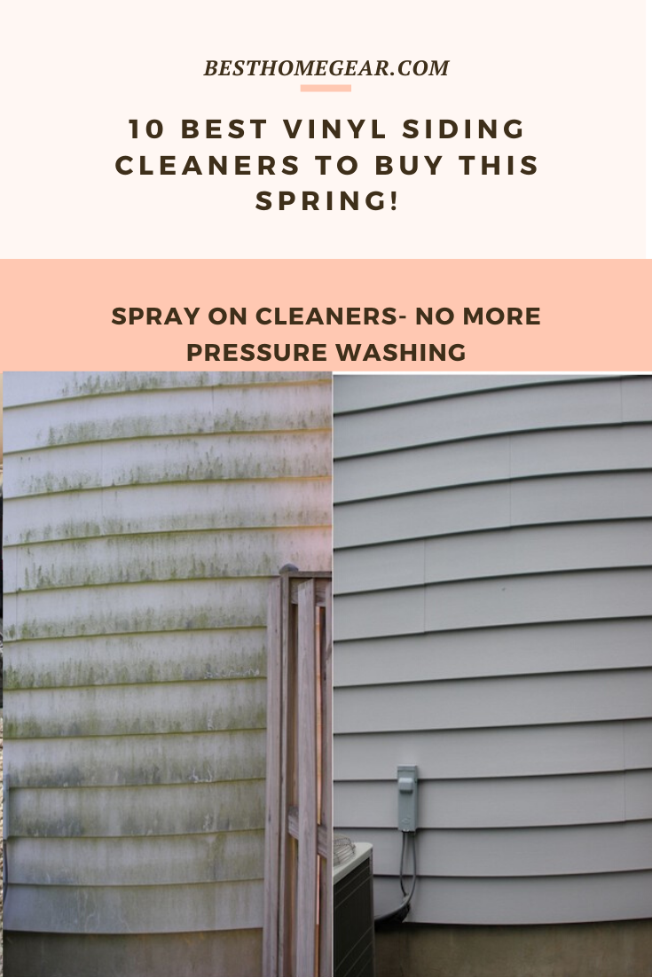 The 10 Best Spray On Vinyl Siding Cleaners