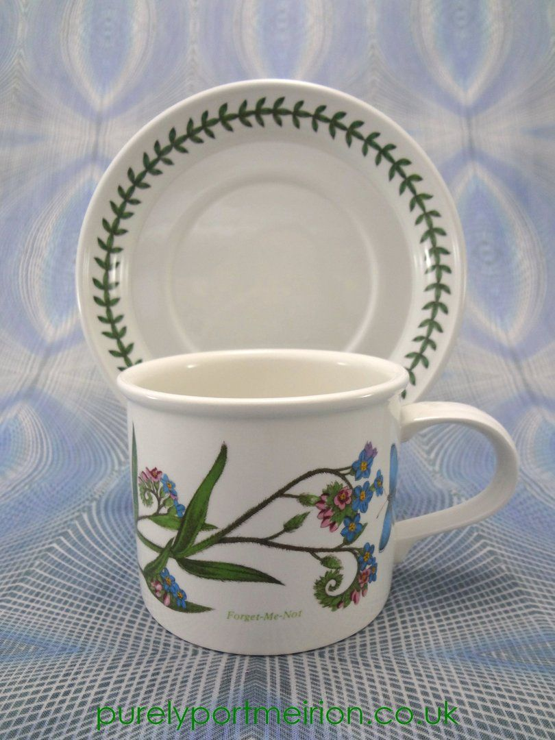 Portmeirion Botanic Garden Large Breakfast Cup And Saucer