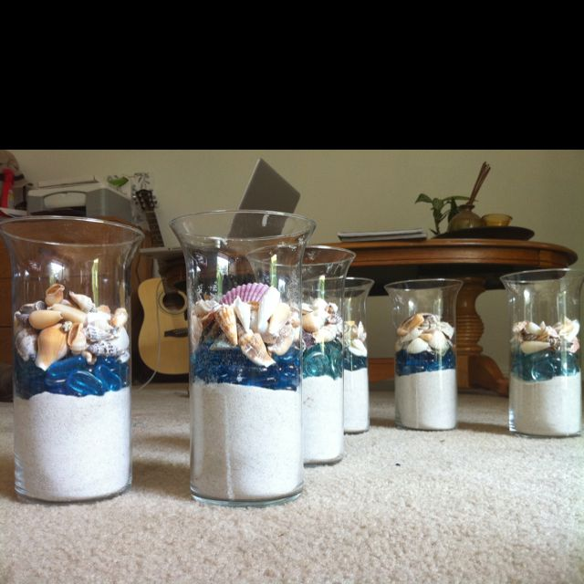 Beach Wedding Centerpieces Ideas: Wedding Centerpieces