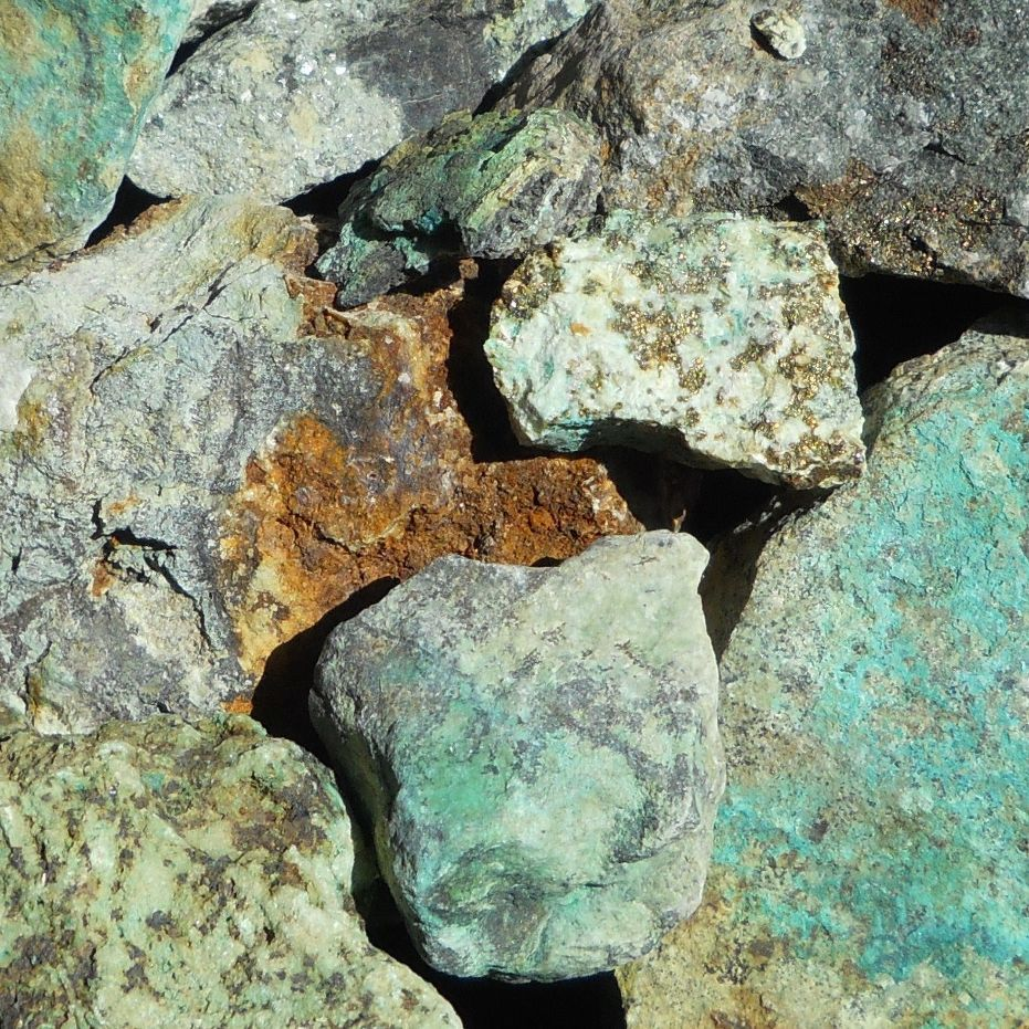 find raw gold copper ore amp gold ore from the wasatch