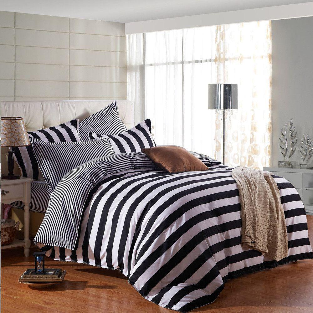 Bedding Set 4pcs Super King Size Bedding Sets Bed Sheets Duvet