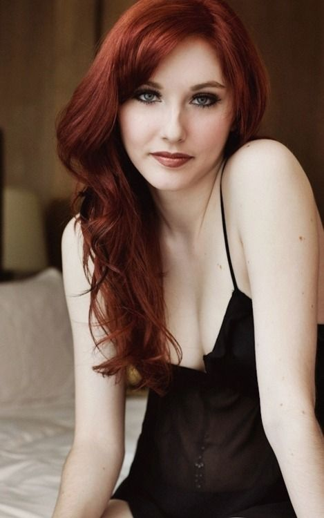 Pale redhead pic foto