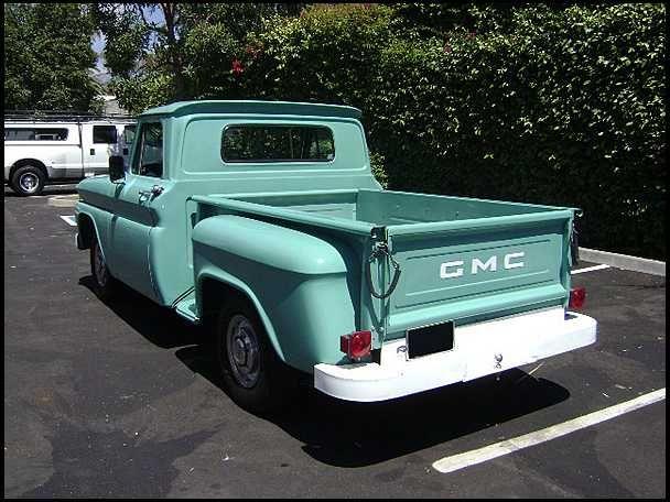 gmc 2 door shortbed pickup for sale 1965 gmc truck for sale 1965 gmc 1 2 ton shortbed. Black Bedroom Furniture Sets. Home Design Ideas