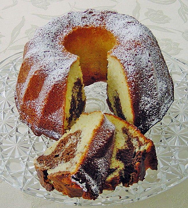 Deutsche Kuchen Rezepte: Marmorkuchen Mit Schmand In 2019