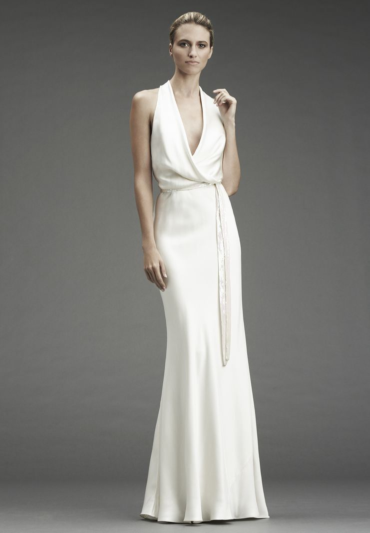 Simple and silky wedding dresses pinterest wedding dress and