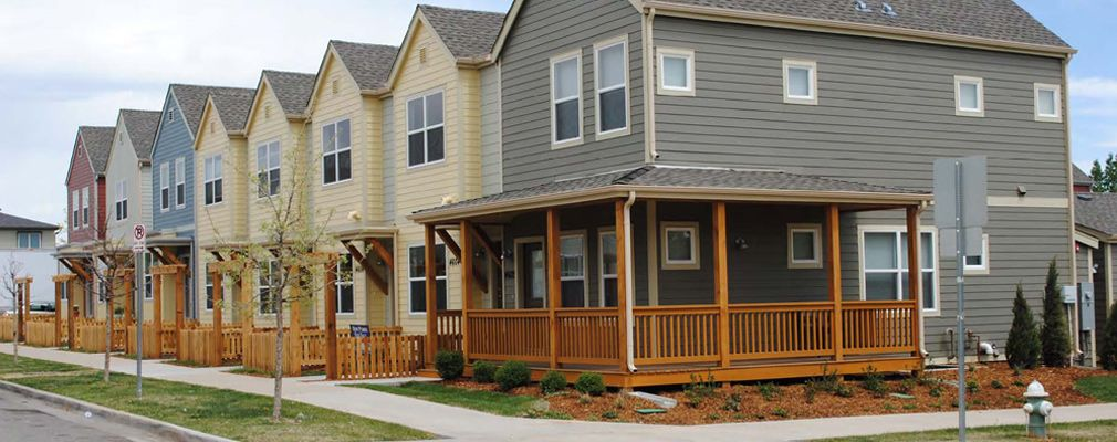 Boulder Colorado Infill Workforce Housing In 2021 Affordable Housing House Styles Family House