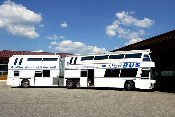 Guinness Record Largest Motorhome Mit Bildern Wohnmobil Bus