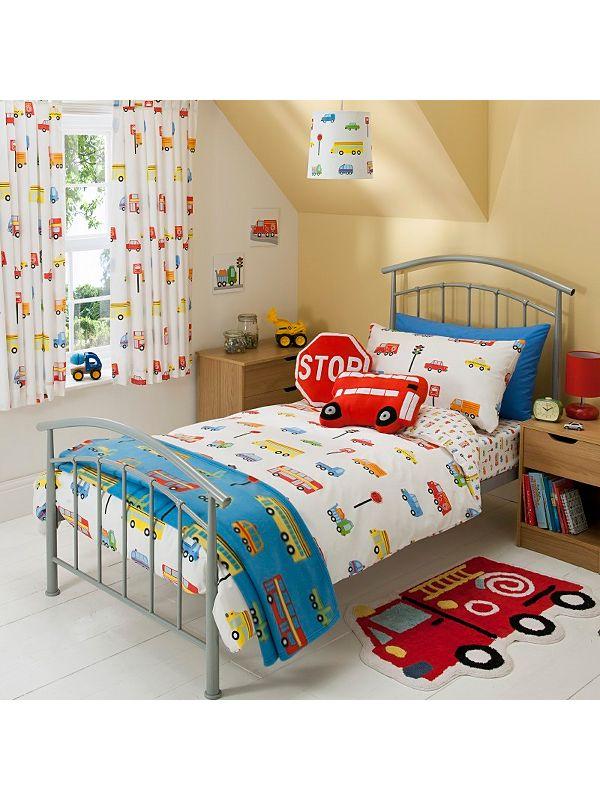 George Home Transport Duvet Set Single Kids Asda Direct Boy Toddler Bedroom Toddler Boys Room Diy Toddler Bed