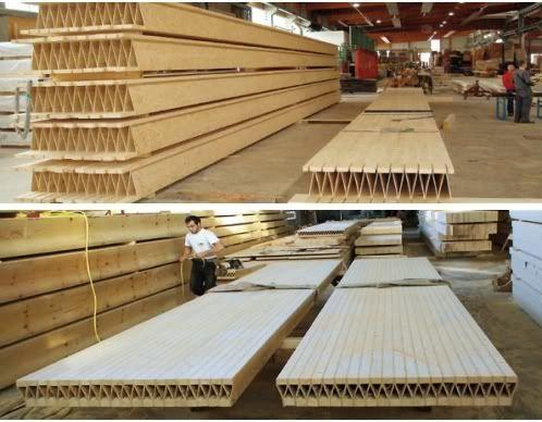 Forjados con paneles kielsteg los paneles kielsteg son - Prefabricados de madera ...