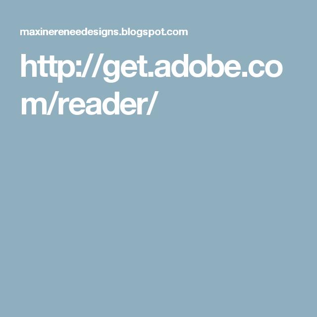 http://get.adobe.com/reader/