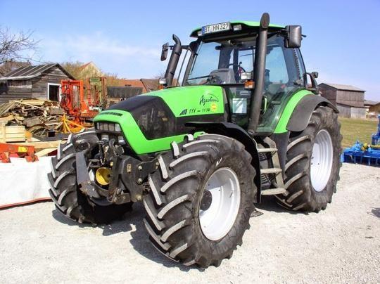 Download DEUTZ FAHR AGROTRON 1130, 1145, 1160 TTV INSTRUCTION MANUAL |  Tractors, Repair manuals, Hydraulic systemsPinterest