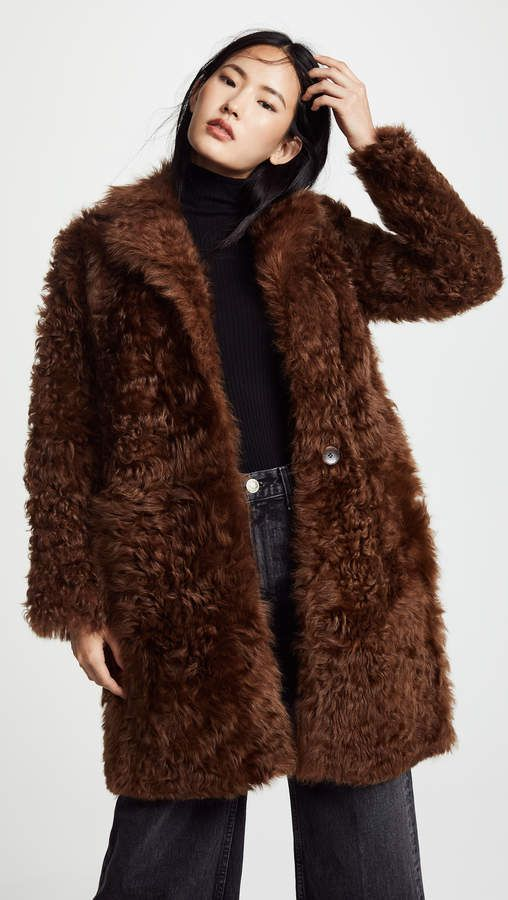 362f2787f27 Reversible Shearling Coat in 2019