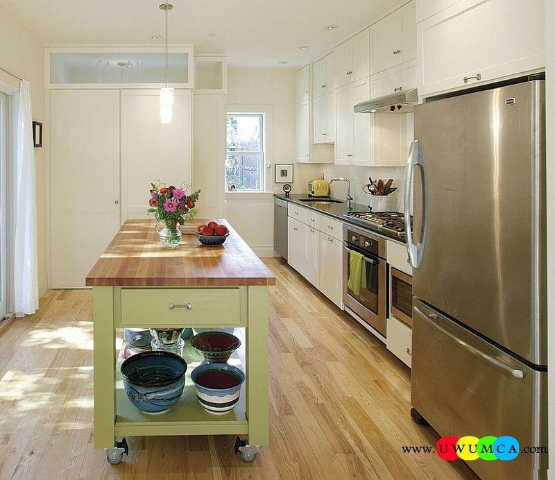 Kitchen Island On Wheels Uk: Kitchen : How To Build Diy Kitchen Island Hidden Units