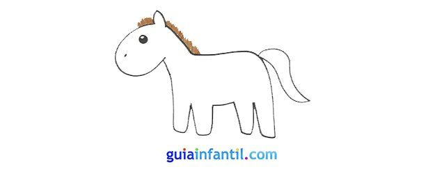 Como Hacer Un Dibujo De Un Caballo Paso A Paso Aprender A Dibujar Animales Dibujos Faciles Para Ninos Como Hacer Dibujos