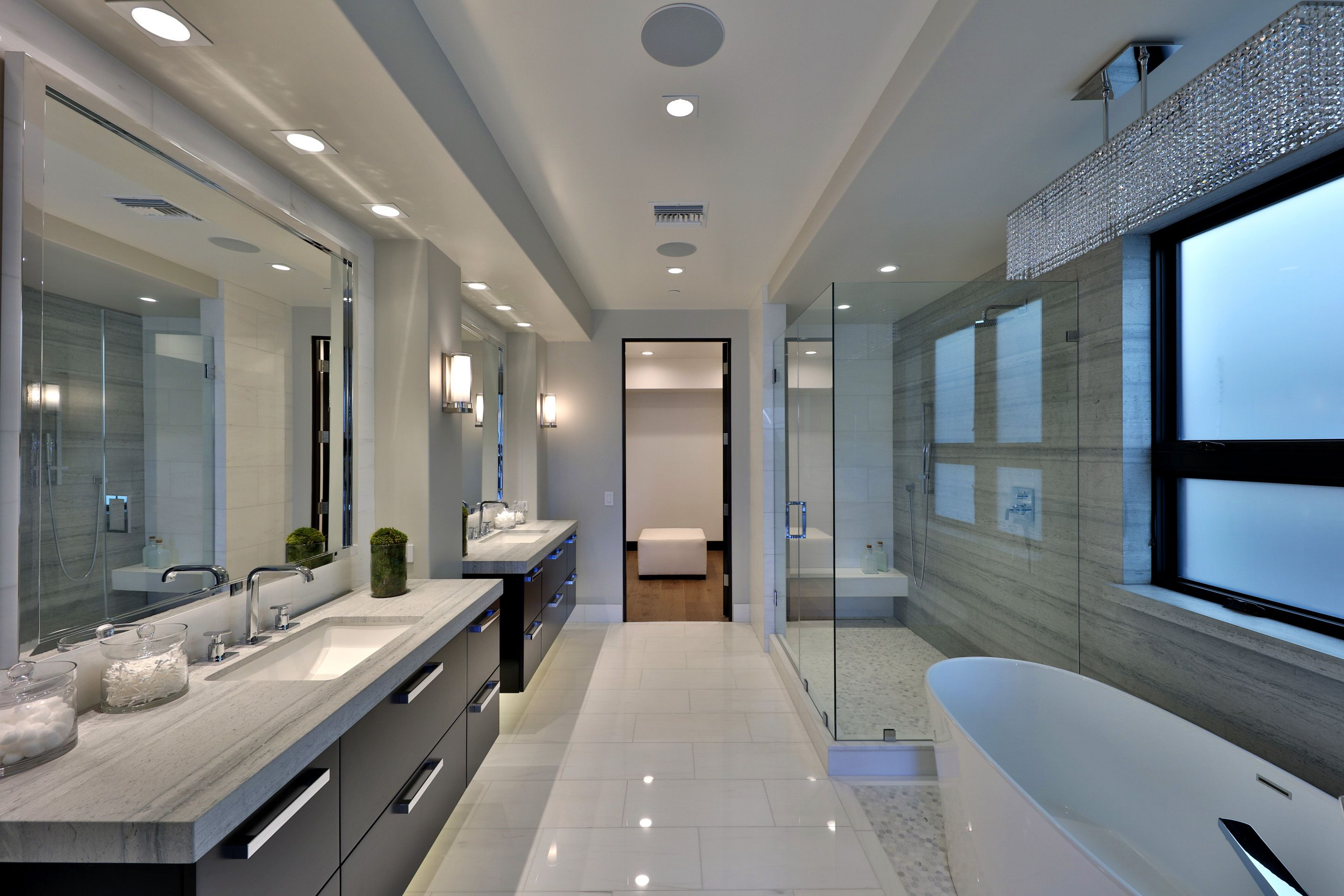 Modern Luxury Master Bath Bathroom Design Luxury Master Bathroom Design Bathroom Interior Design