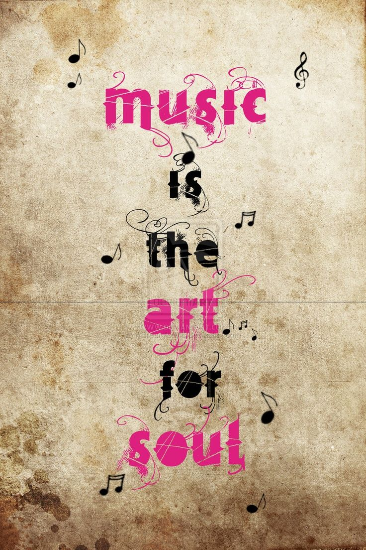 Music is the art for soul