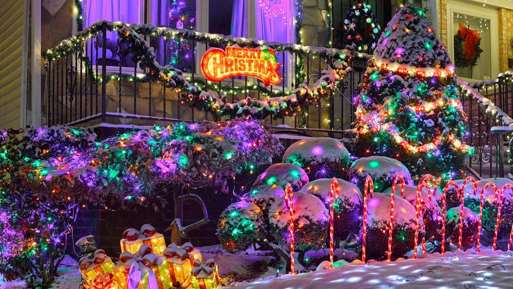 Marvel at the most festive Christmas lights in all of NYC