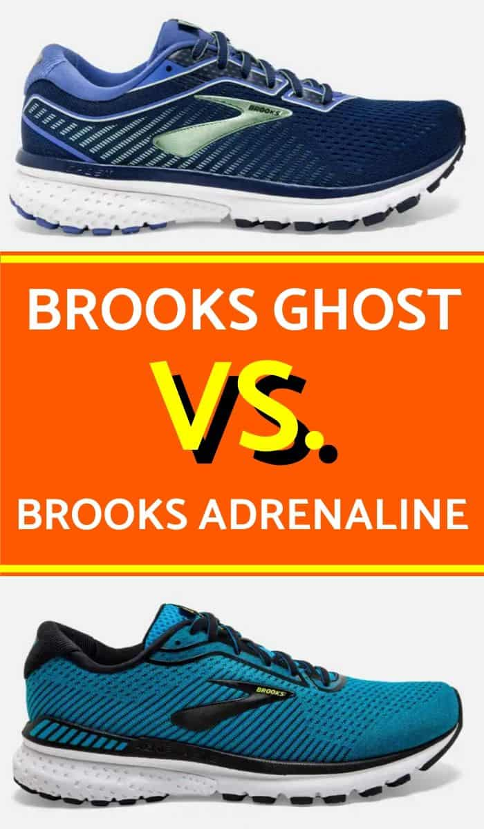 Brooks Ghost vs Adrenaline - Which