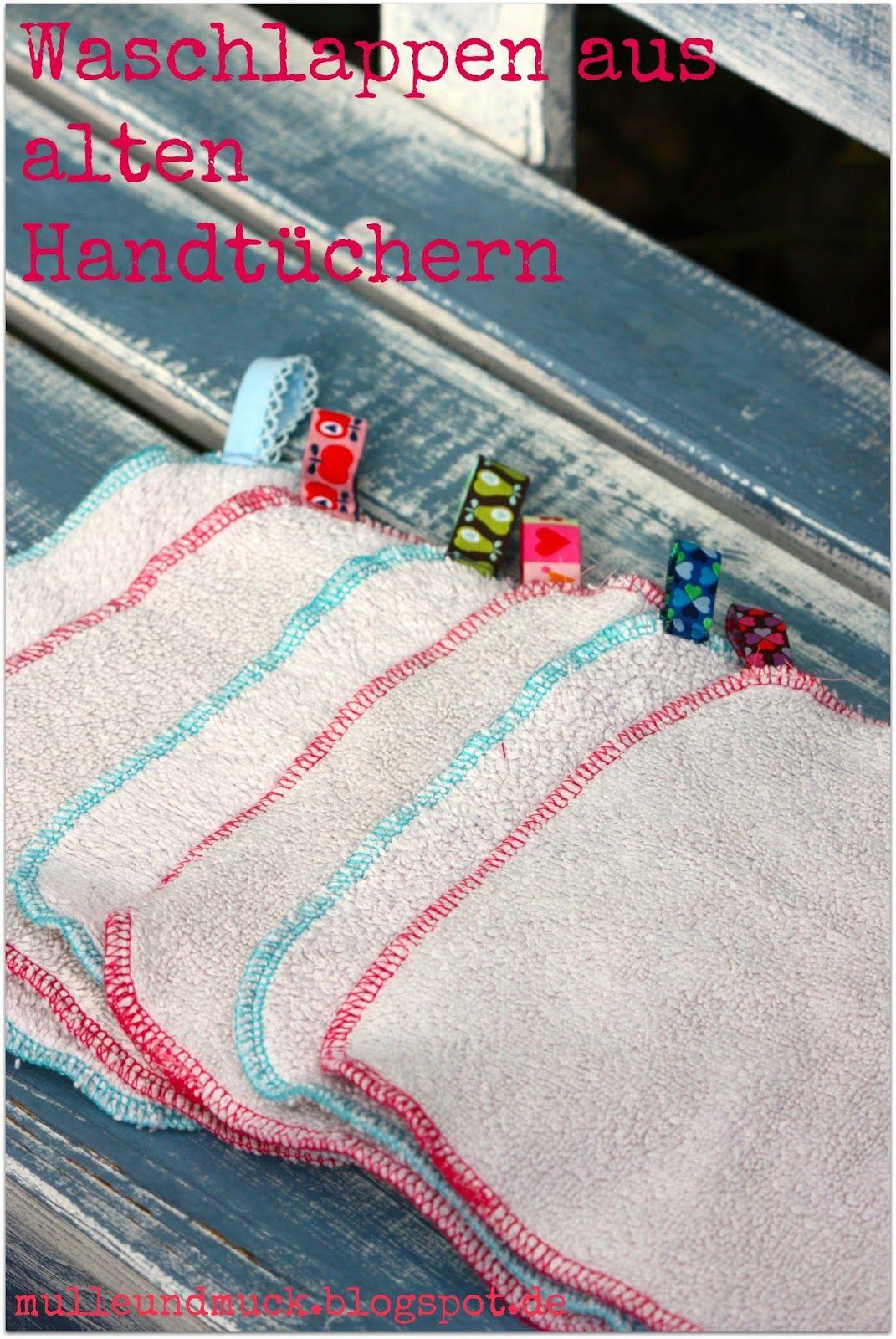nähideen alte handtücher