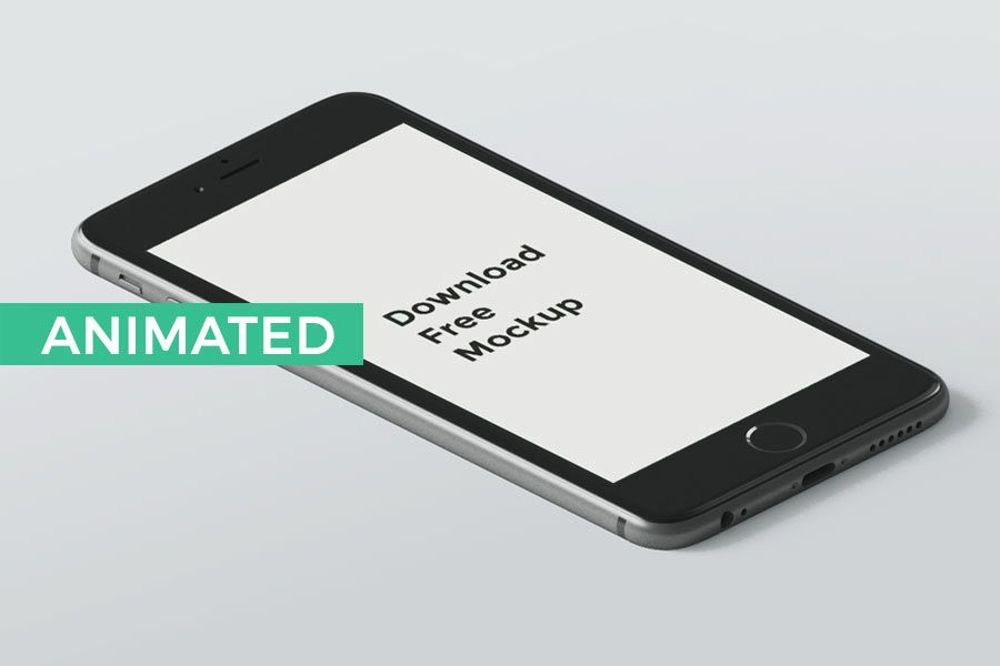 Animated (PSD to GIF) iPhone Mockups Free iPhone Mockups