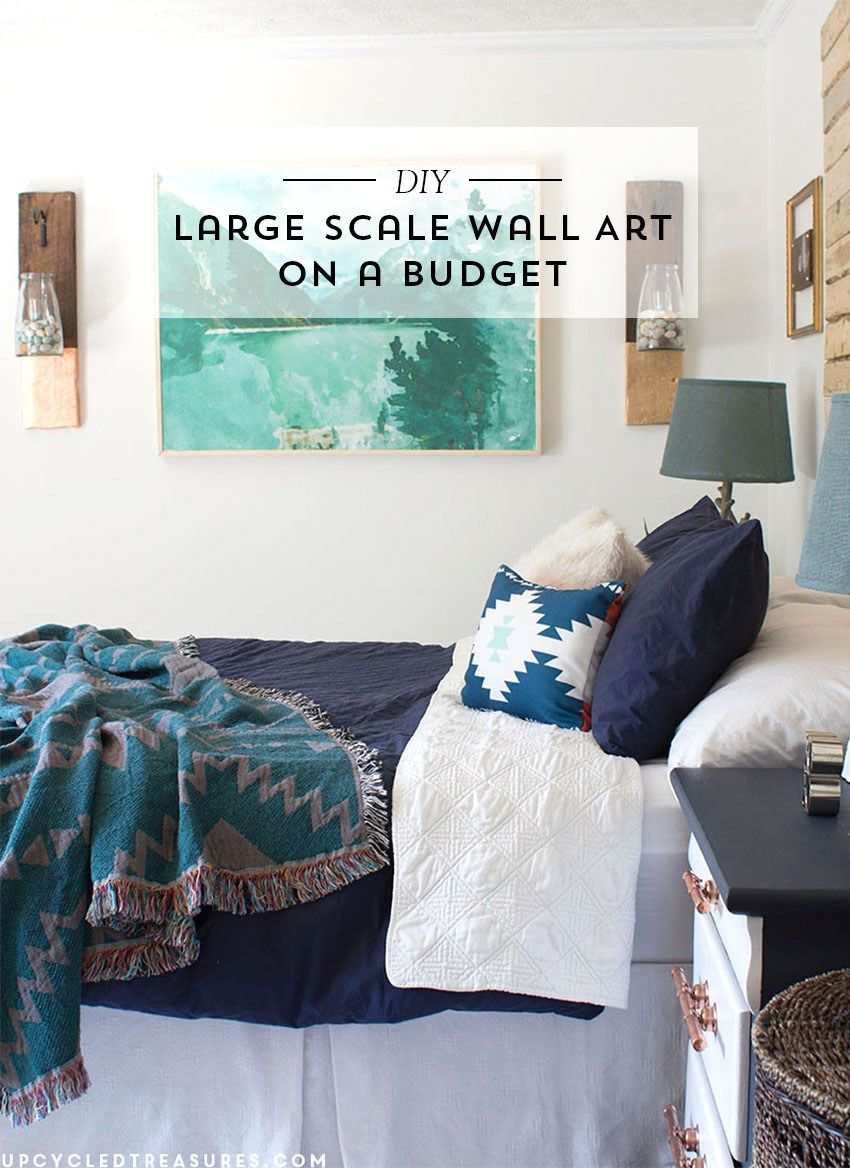 diy large scale wall art engineer prints scale and walls