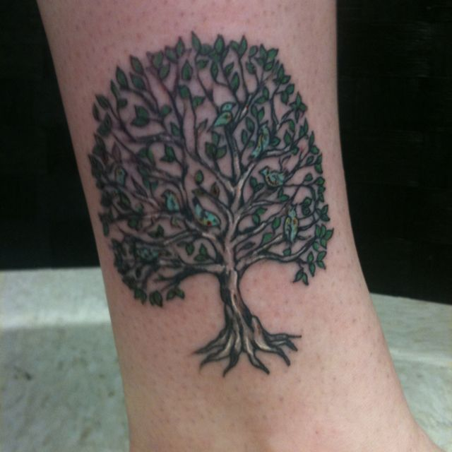 My family tree tattoo tattoos pinterest trees a for My family tattoo