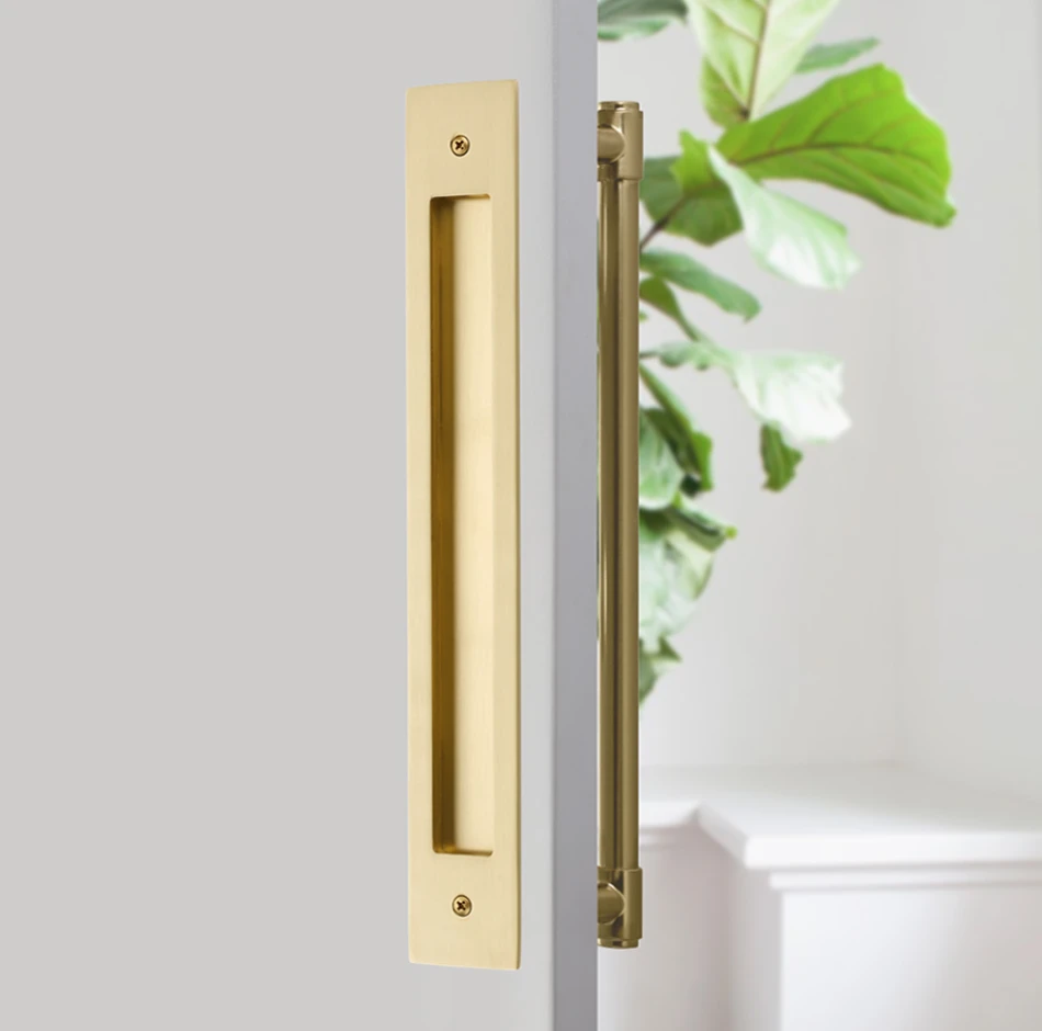 Door Flush Pull And 12 Handle Back To Backhardware For Interior Slidi Forge Hardware Studio In 2020 Sliding Door Handles Appliance Pull Emtek