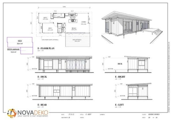 645 Sq Ft Modern Shipping Container Home Container House Modular Homes Container House Plans