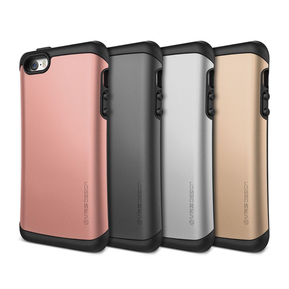 low priced 393ce 3a829 VRS Design [Thor] Shockproof Protective TPU Case for Apple iPhone SE ...