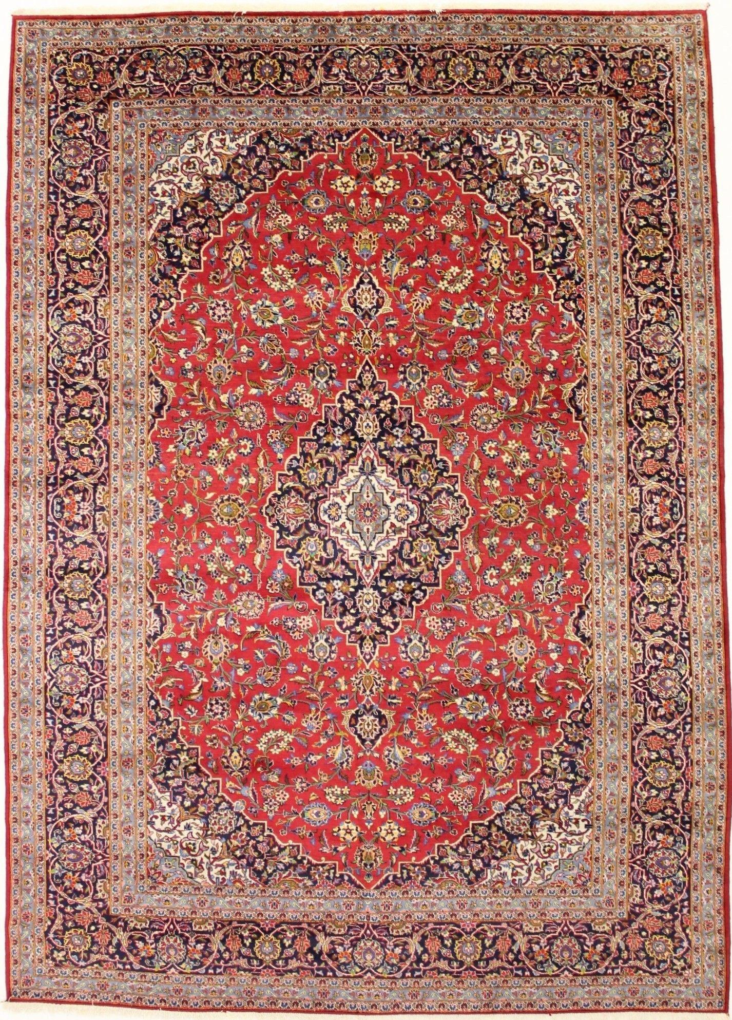 Kashan persian rug 10x13 vintage handmade persian rugs store in 9315 monroe road charlotte nc