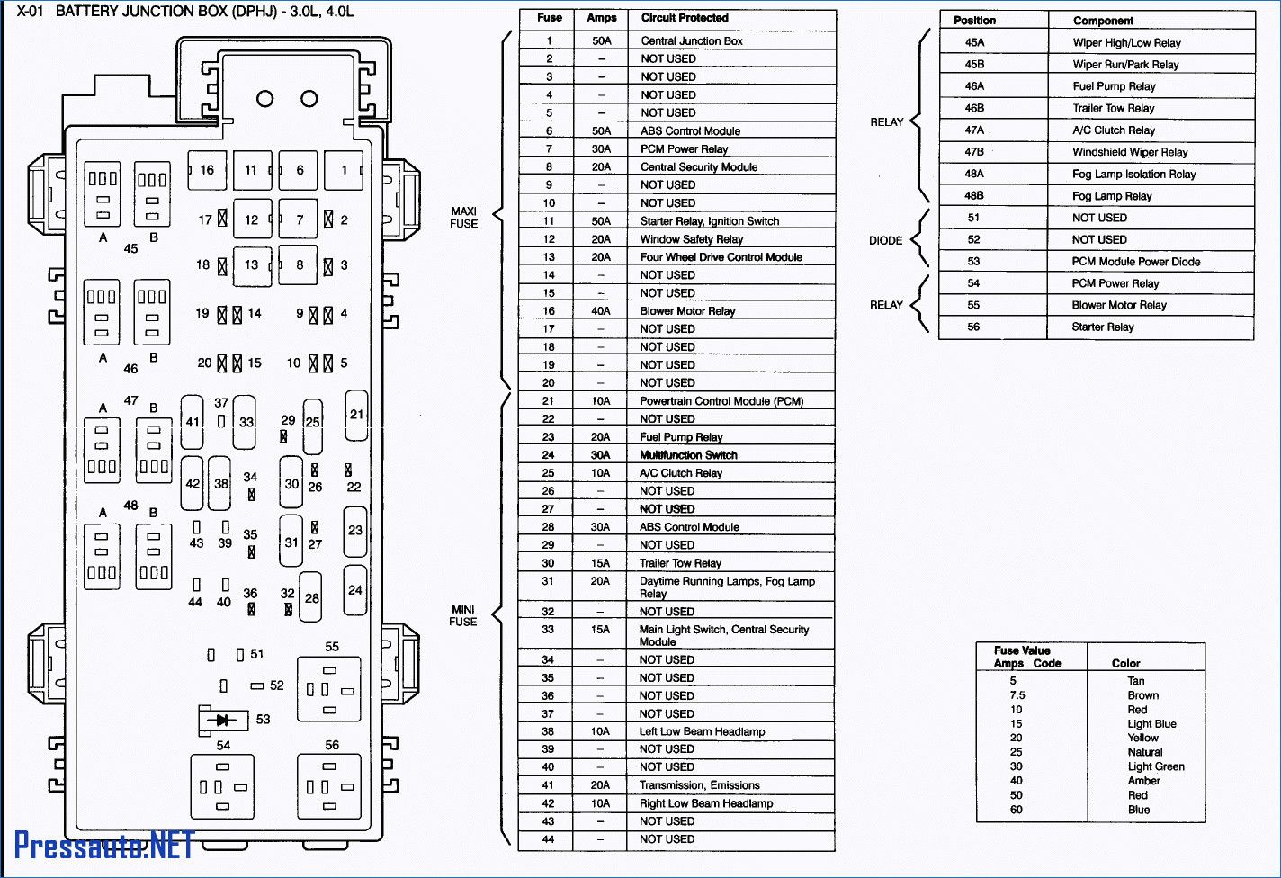 50 Ford F150 Fuse Box Diagram Ji5p Di 2020