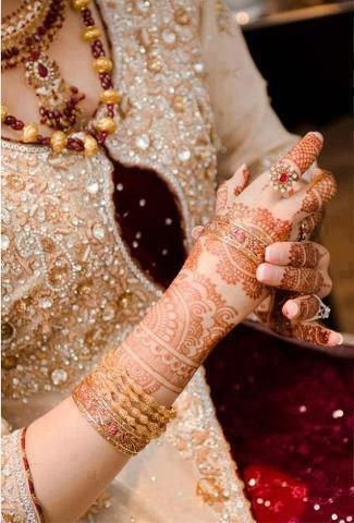 Asian bridal henna