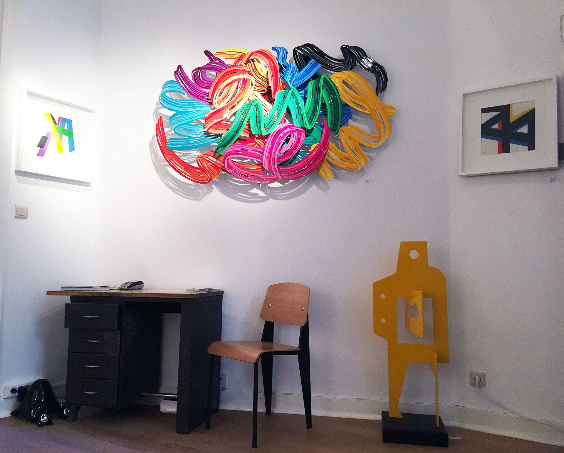 "Exposition "" Sea, Art & Sun "" - Juin 2015 #davidgerstein #nicolasdubreuille #artcontemporain #galerieduret"