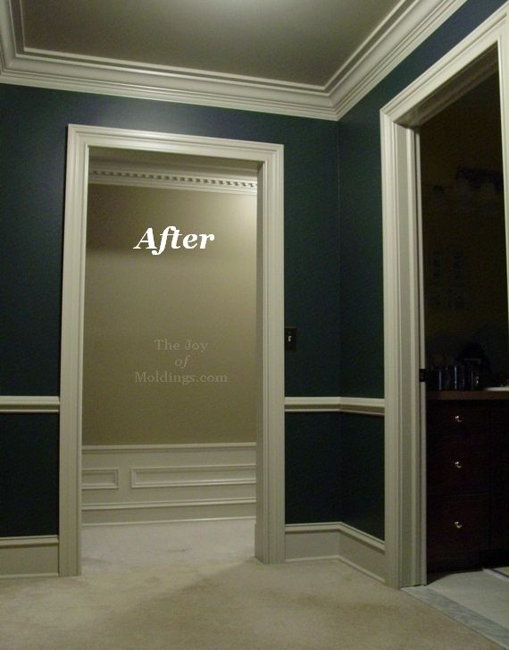 Crown Molding Before After Google Search