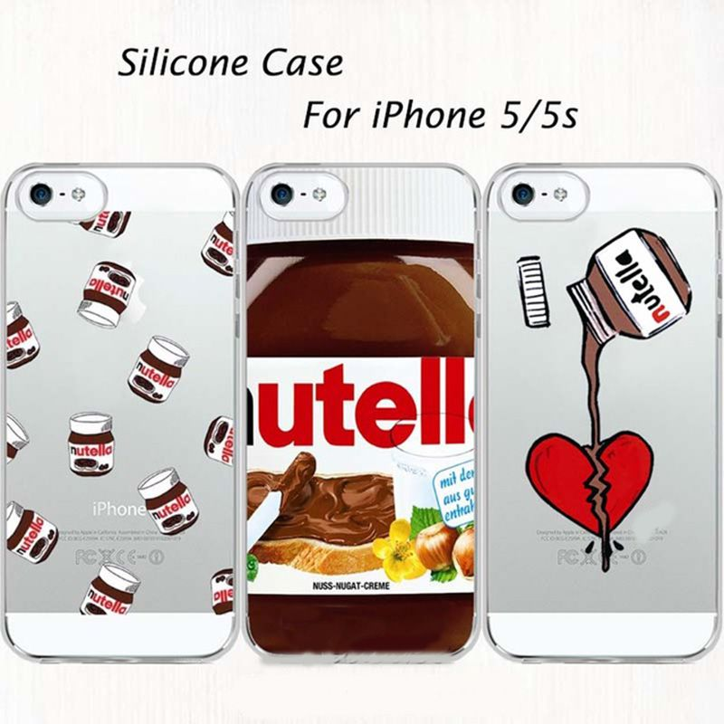 coque iphone 5 nutella 3d