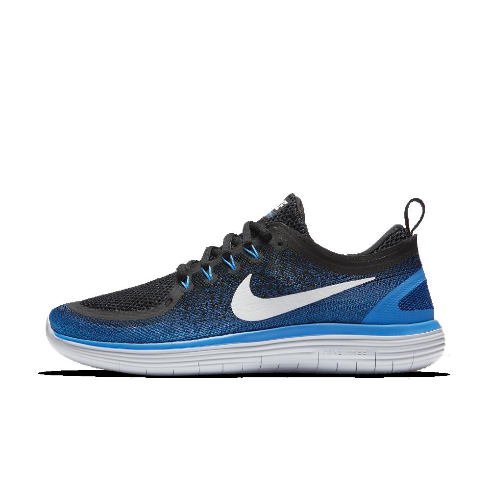 pick up 889cd 6f174 Nike Free RN Distance 2 Men's Running Shoe Size 10.5 (Blue ...