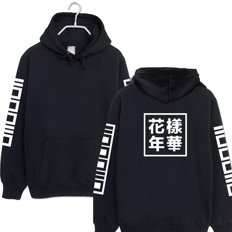 Kpop BTS Bangtan Boys Sweatshirt Hoodie SUGA JUNG KOOK JIMIN JIN V Sweater