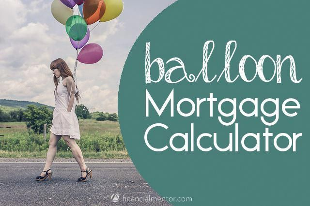 balloon mortgage calculator mortgage payoff tips house pinterest