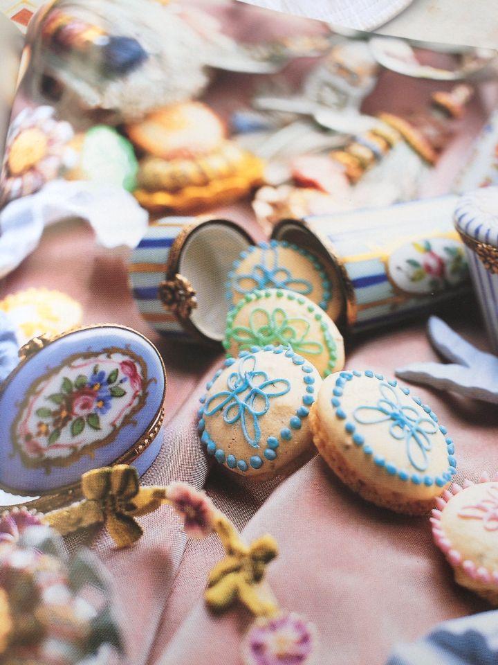 Petits bonbons à l'anis image tirée de La petite cuisine des fées