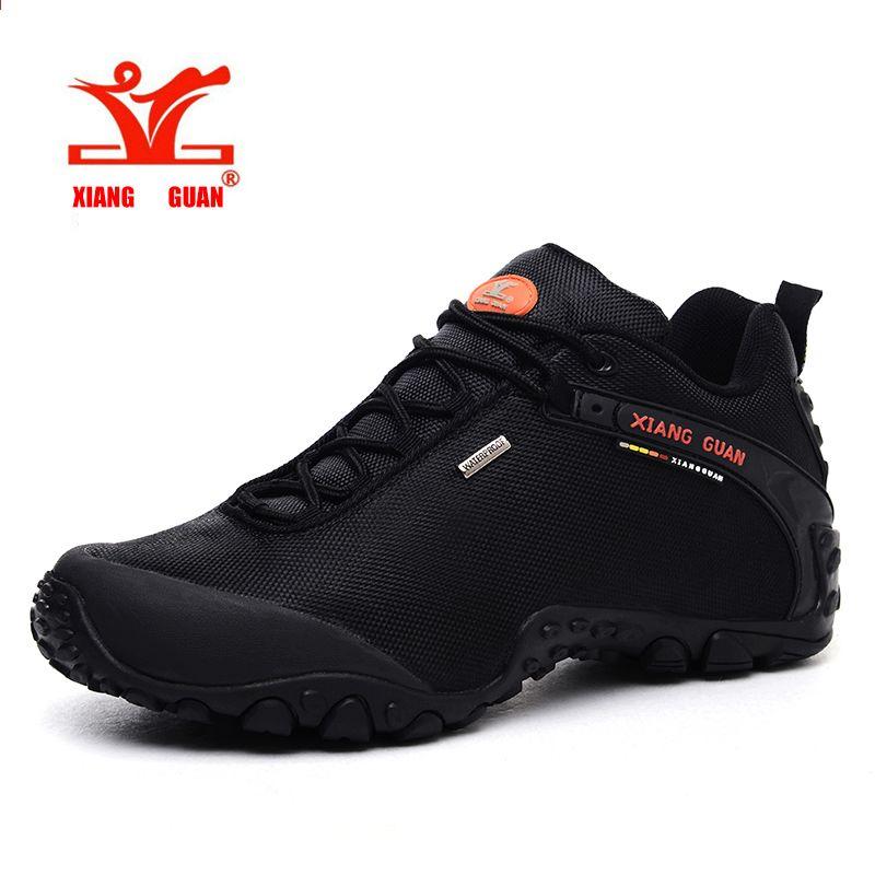 74cc23f7e XIANG GUAN Mujeres Al Aire Libre Zapatos de Senderismo Impermeable Escalada  Mountaineer Sneaker Trekking Trainer Deporte