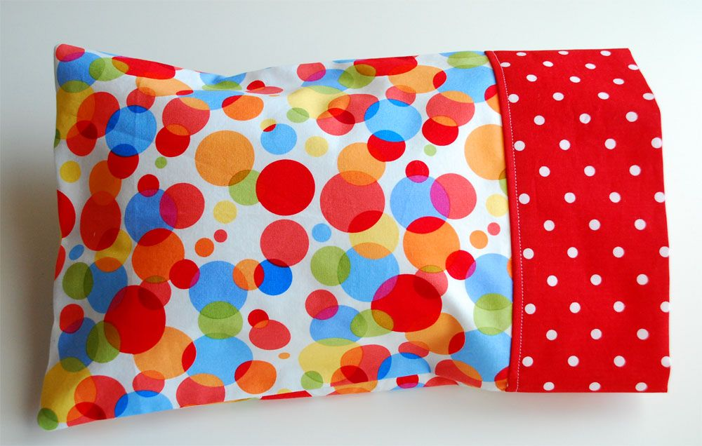 The Toddler Pillow  Case  Sew It  Toddler pillow