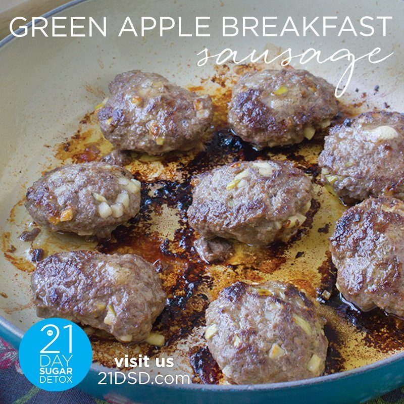 21DSD Recipe: Green Apple Breakfast Sausage (With Images