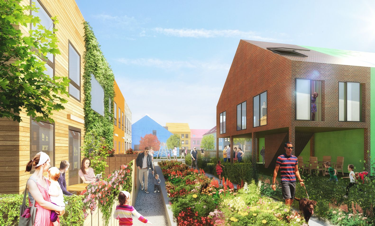 Gallery Of Mvrdv Partners With Traumhaus To Reinvent Affordable Living In The Suburbs 4 Affordable Housing Suburban House Social Housing