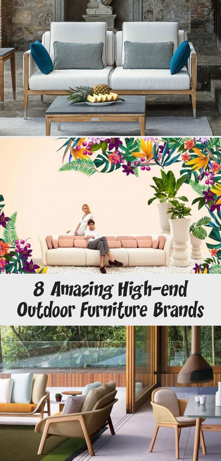 8 Amazing High End Outdoor Furniture Brands In 2020 Furniture Luxury Bathroom Outdoor Furniture