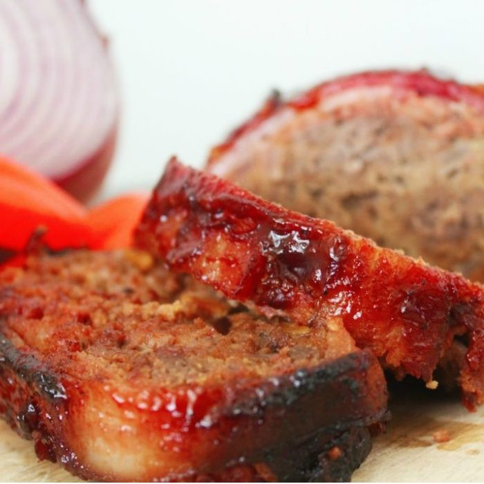 BBQ Meatloaf with a Bacon Weave BBQ Meatloaf with a Bacon Weave uncategorized