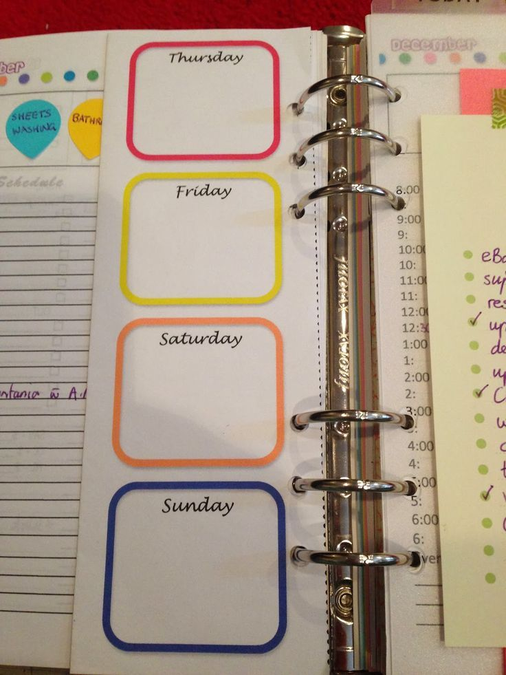 Organised lifestyle a peek into my a5 home management