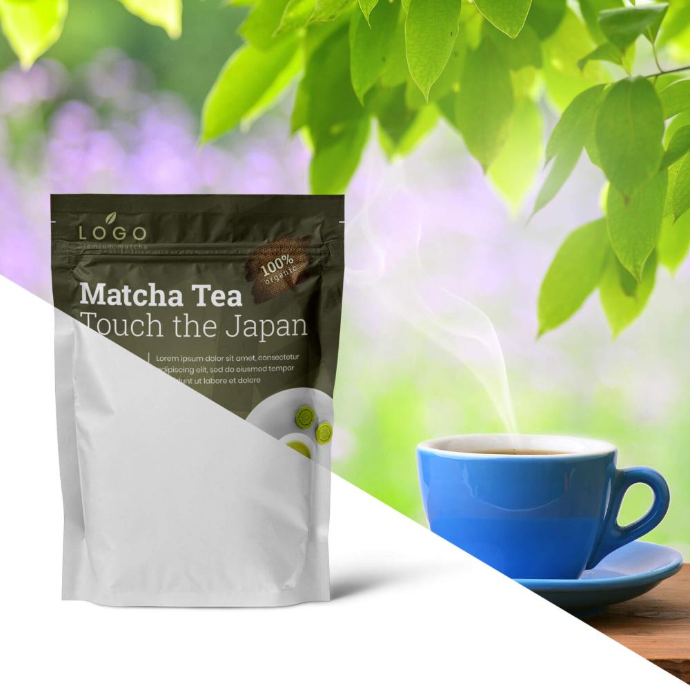 Download Free Tea Bag Mockup Psd Template In 2021 Bag Mockup Free Tea Psd Templates