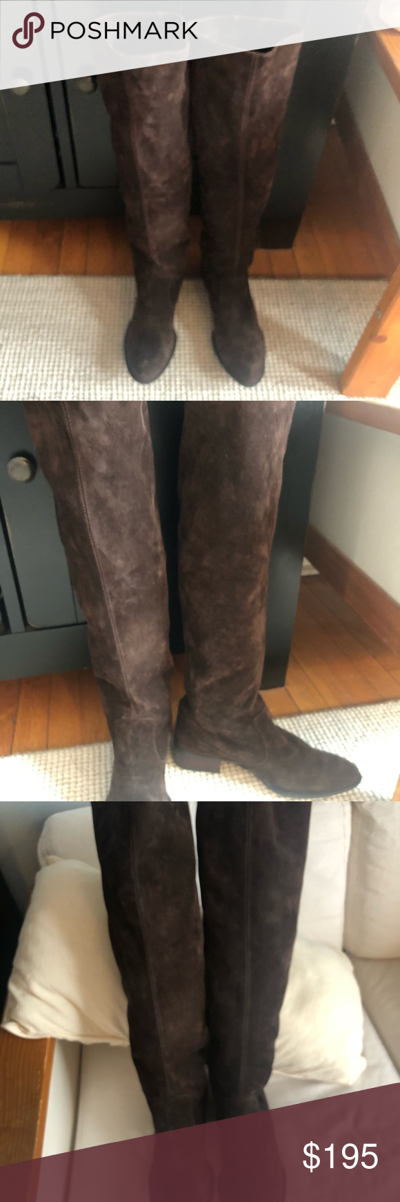 6001655c735 Born Suede Over the Knee Boots Cricket Born Boots. Pristine ...